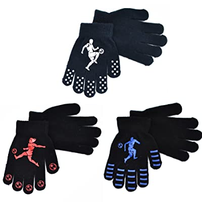 Auntwhale Winter Warm Comfortable Knitting Gloves Gifts Warm Mittens Gift for Boys Girls
