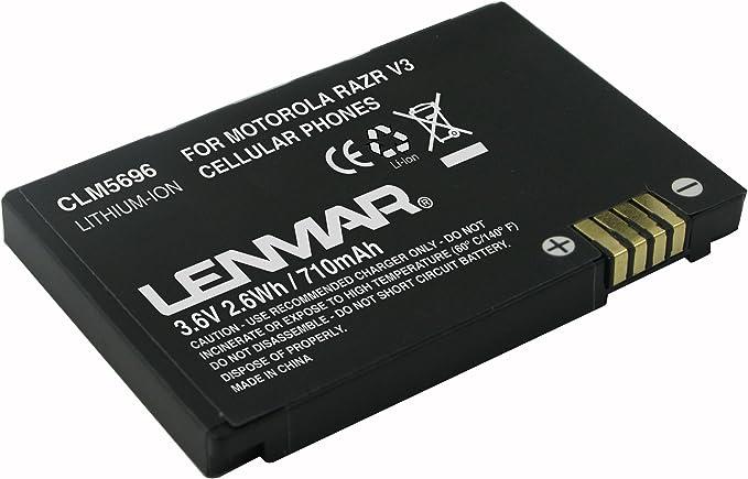 Lenmar CLM5696 Cell Phone Battery Ión de Litio 710mAh 3.6V batería ...