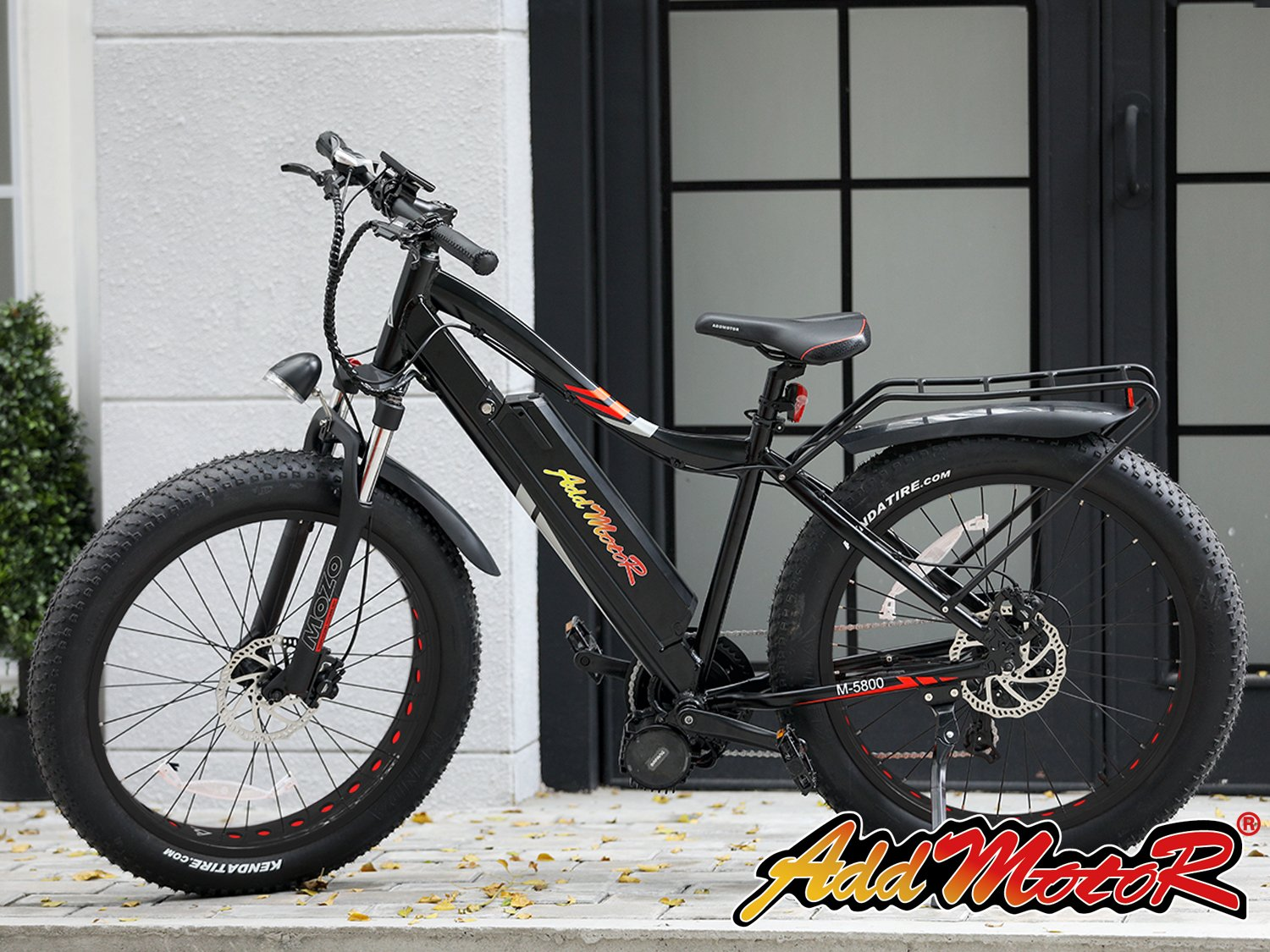 Addmotor MOTAN 1000W Electric Bike Fat Tire M-5800 Bafang