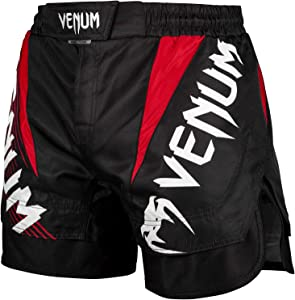 Venum Nogi 2.0 Fightshorts - Black-S, Black, Small