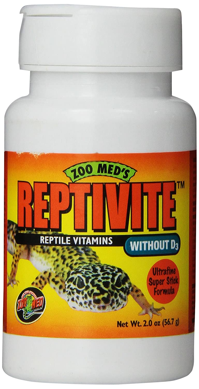 Zoo Med Reptivite sans D3 Hygiène pour Reptiles 57 g A352
