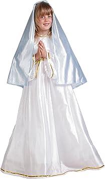 Disfraz de virgen María para niña - 11-13 años: Amazon.es ...