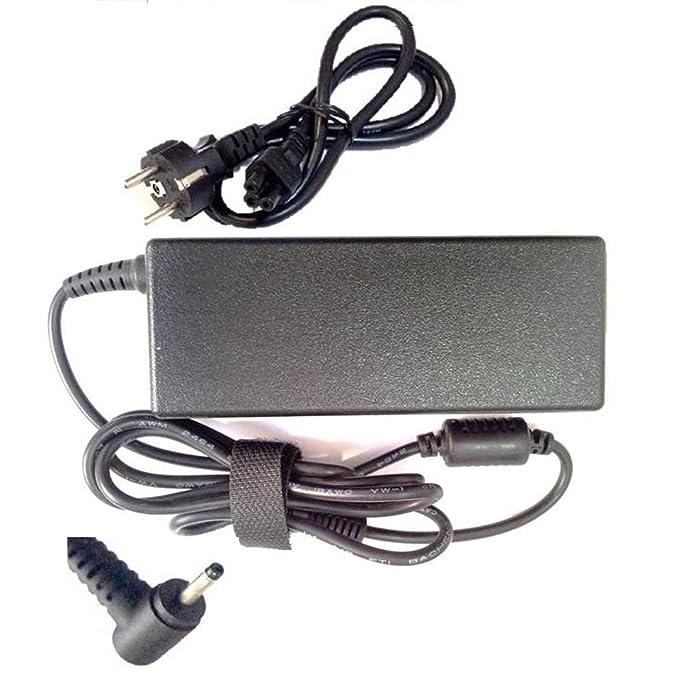 Cable + Cargador ASUS 19V 2.1A 40W para ASUS EEE PC 1011BX 1011PX 1001HA Clavija es 2.3 * 0.7 mm, preste atención para confirmar