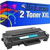 PlatinumSerie® 2x Toner compatible with Samsung MLT-D103L each case 5.000 pages Black SCX-4726 FN SCX-4727 FD SCX-4728 FD SCX-4728 FW SCX-4729 FD SCX-4729 FWX SCX-4729 FW