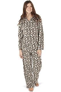 aa5c66493 Totally Pink Women's Warm and Cozy Plush Fleece Winter Pajama Set Teen and  Girls