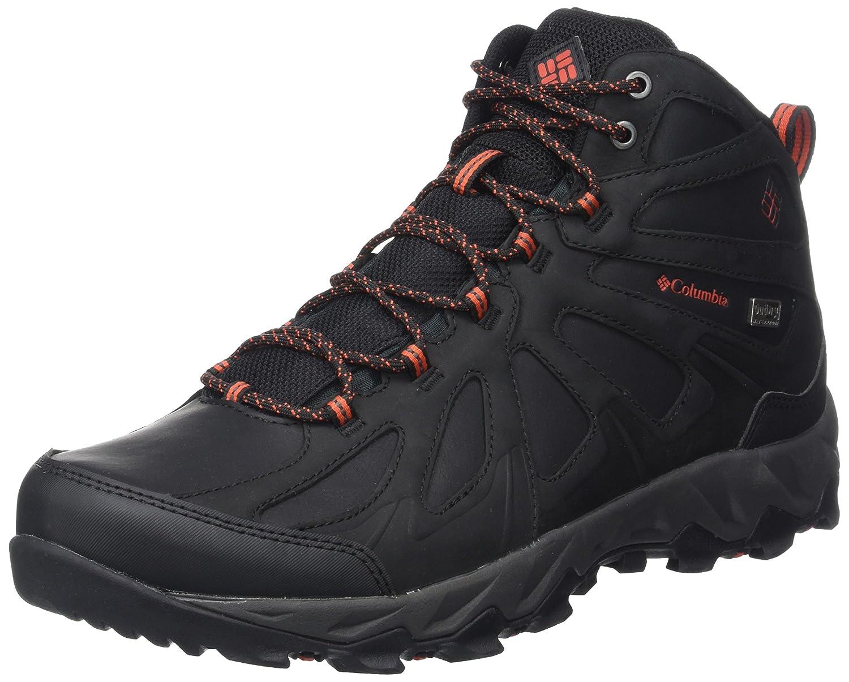 Noir (noir, Super Sonic) 42 EU Columbia Peakfreak XCRSN II Mid cuir Outdry', Chaussures de Randonnée Hautes Homme
