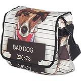 Unisign - Sac à bandoulière/besace - motif chien dog - femme - moyen