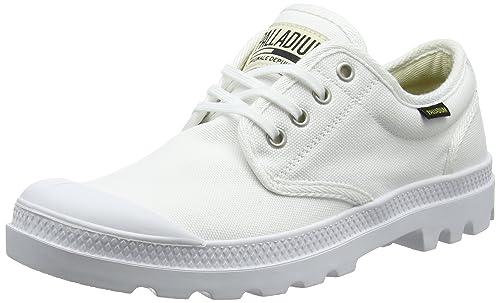 Palladium Pampa Ox Orig U, Sneaker Unisex-Adulto, Bianco (White/White 924), 45 EU