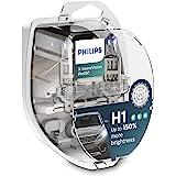 Par Lampada Philips X-treme Vision Pro H1 3400K 150% + Luz