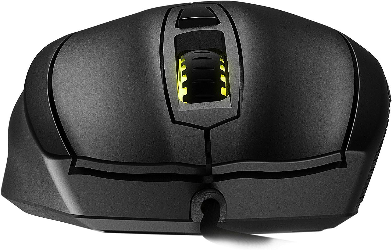 Mionix MNX-01-25001-G - Ratón para Gaming, Color Negro
