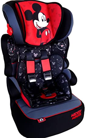 Nania Disney MICKEY MOUSE Mickey Mouse Beline Luxe Childrens Car Seat Groups 1 2