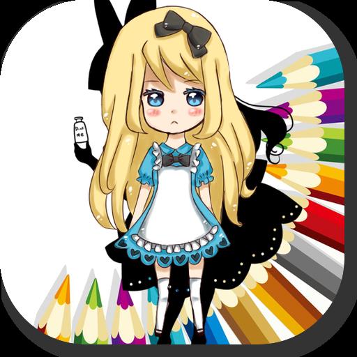 Alice Memo Color Write Note Alice in Wonderland