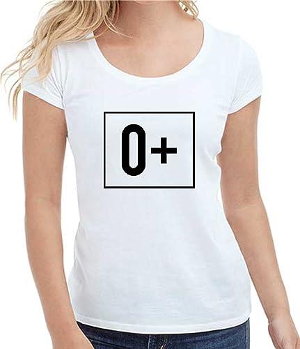 T-shirt donna manica corta in cotone ZERO POSITIVO