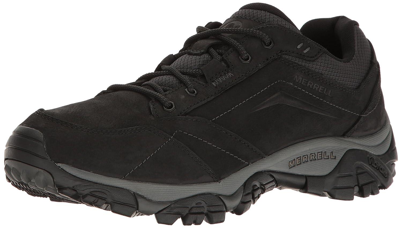 Noir (noir) 46.5 EU Merrell Moab Adventure Lace, Chaussures de Randonnée Basses Homme