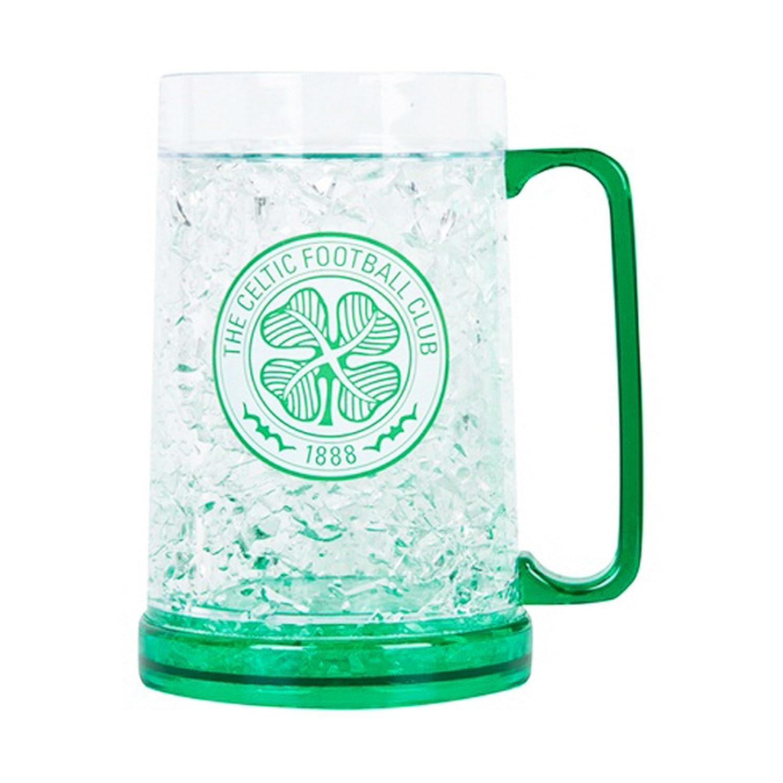 Celtic FC Fútbol congelador vaso de pinta jarra de cerveza: Amazon ...
