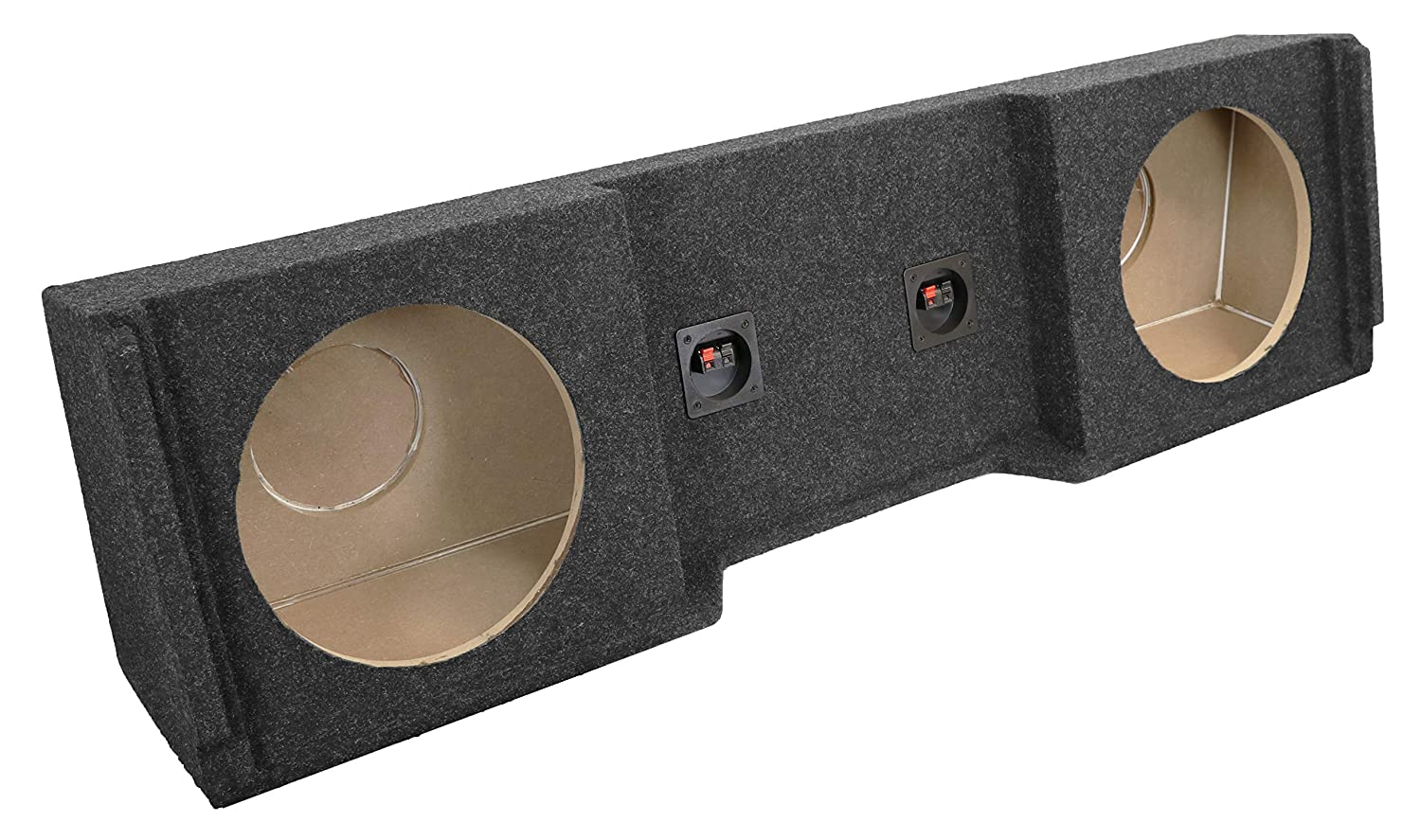 Bbox A101-10CP Single 10 Sealed Carpeted Subwoofer Enclosure Fits 1988-1998 Chevrolet//GMC Full Size Pickup Extended Cab
