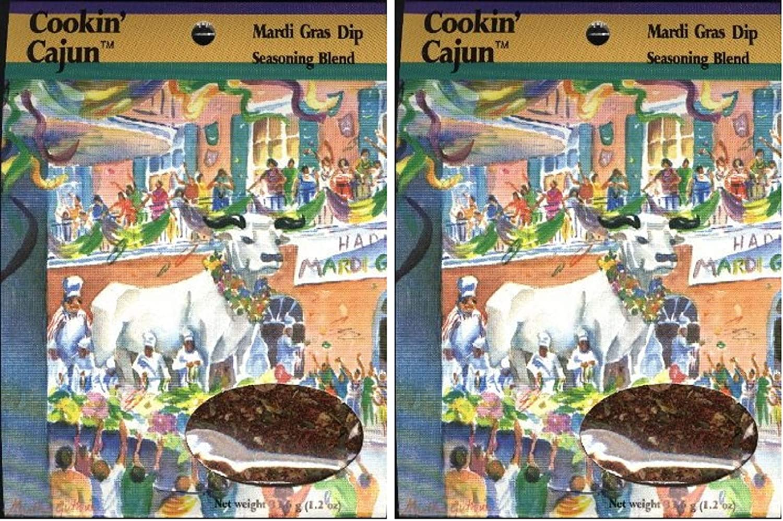 Cookin' Cajun Mardi Gras Dip Mix (2-pack)