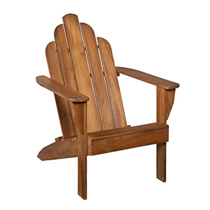 Superieur Amazon.com : SEI Teak Adirondack Chair   Outdoor Patio Teak Wood Chair :  Garden U0026 Outdoor