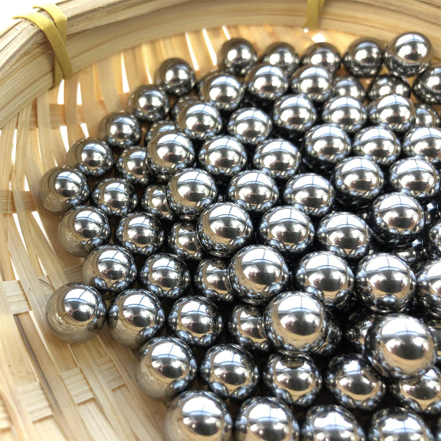 Hanchen Stainless Steel Grinding Balls Media Beads 250g Lab Ball Mill Grinding Media for Lab Planetary Ball Mill (1mm, 440) by Hanchen (Image #8)