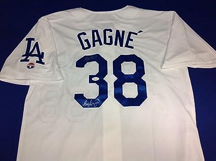 af638a389cb Eric Gagne quot 3X AS quot  signed Los Angeles Dodgers Jersey Cert  W834335  - JSA