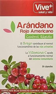 Vive+ Arándano Rojo con Brezo y Vitamina C - 3 Paquetes de 30 Cápsulas