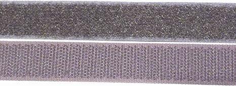 Klettverschl/üsse 1m Klettband 20mm,Hakenband und Flauschband zum Aufn/ähen in gr/ün