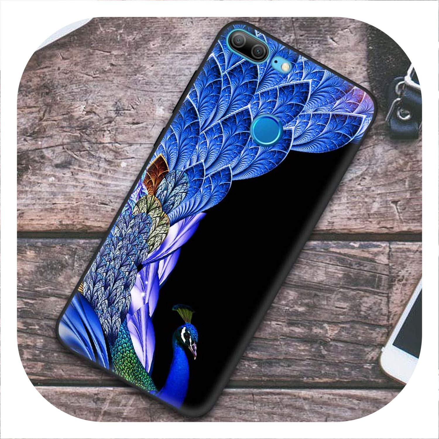Amazon.com: Phone Black Back Cover Case for Huawei Honor 9 ...