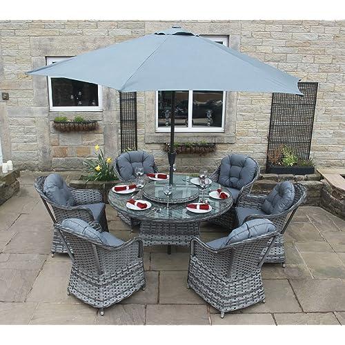 Luxury Rattan Garden Furniture: Amazon.co.uk