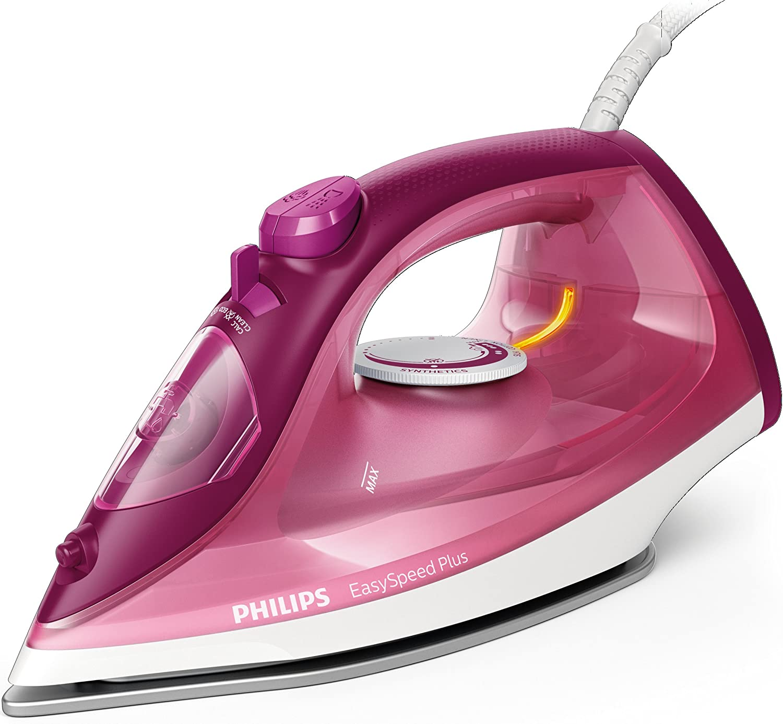 Philips EasySpeed Adv GC2146/40 - Plancha Ropa Vapor, 2100 W, Golpe Vapor 110 g, Vapor Continuo 30 g, Suela Ceramica, Antical Integrado: Philips: Amazon.es: Hogar