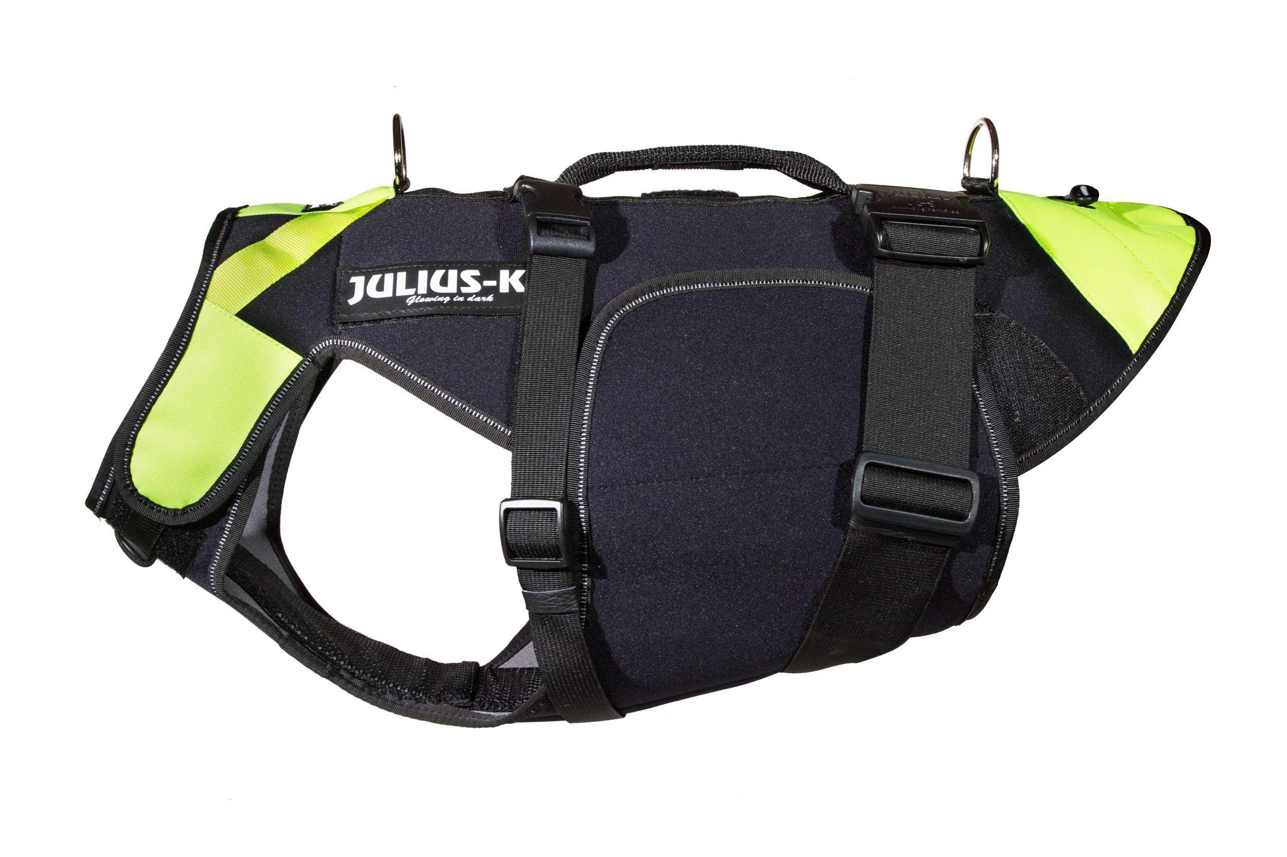 JULIUS-K9 IDC Multifunctional Dog Harness made of neoprene | Size: L (chest measurement: 25,5-32,5''/65-82 cm)