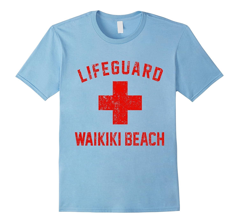 Lifeguard Waikiki Beach Swimming Pool Honolulu Hawaii Shirt-TH