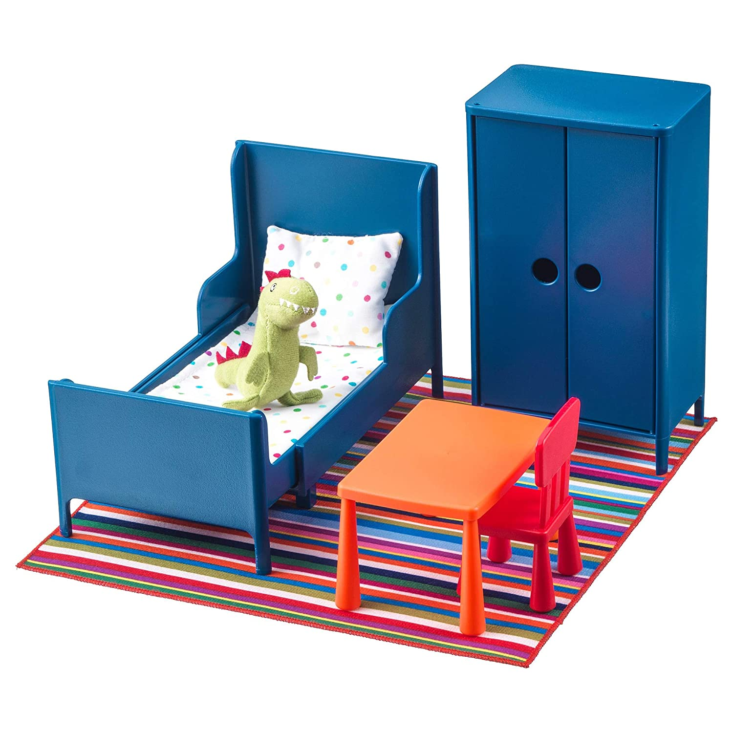 Amazon Com Ikea Huset Doll Furniture Bedroom Toys Games