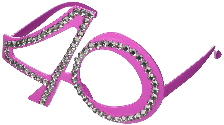 Folat Creative Party-Brille zum 30. Geburtstag, Pink: Amazon.de ...