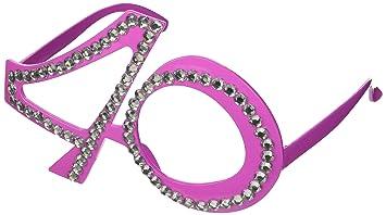 CREATIVE Gafas 40mo cumpleaños, aniversario, materia de diversión, Gagbrille