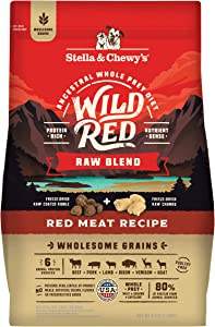 Stella & Chewy's Wild Red Raw Blend Kibble Dry Dog Food