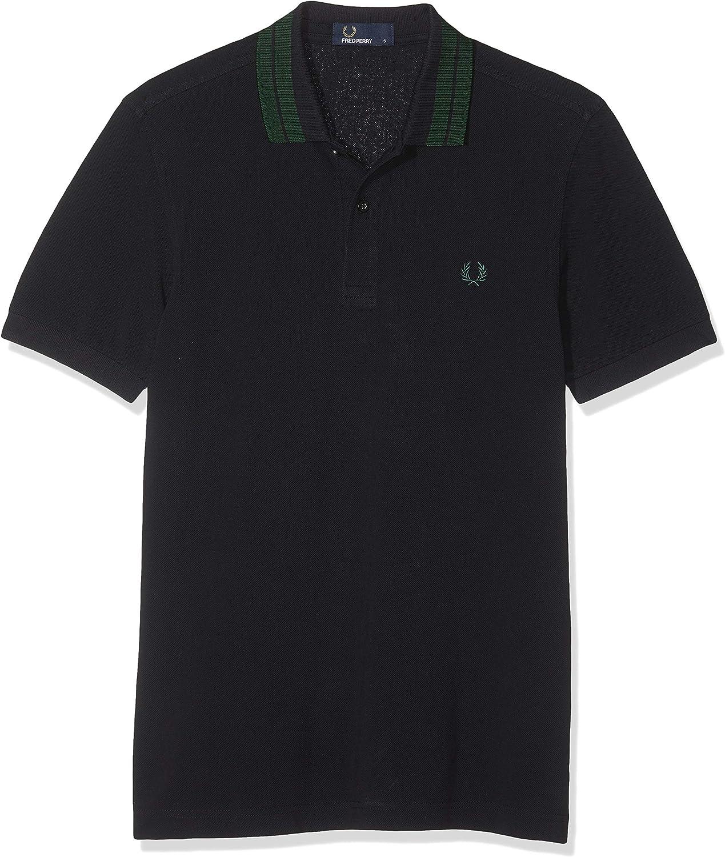 Fred Perry Bold Tipped Pique Shirt Polo para Hombre: Amazon.es ...