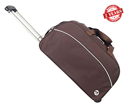 3G Polyester 25 Ltr Brown Travel Duffles