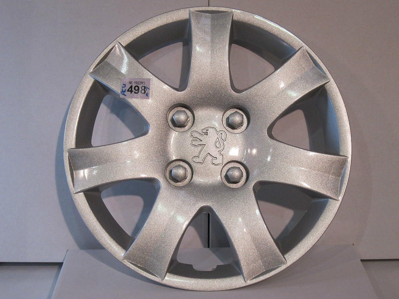 Peugeot 206-207, tapacubos para rueda de 14 pulgadas -: Amazon.es: Coche y moto