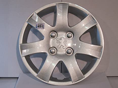 Peugeot 206-207, tapacubos para rueda de 14 pulgadas -