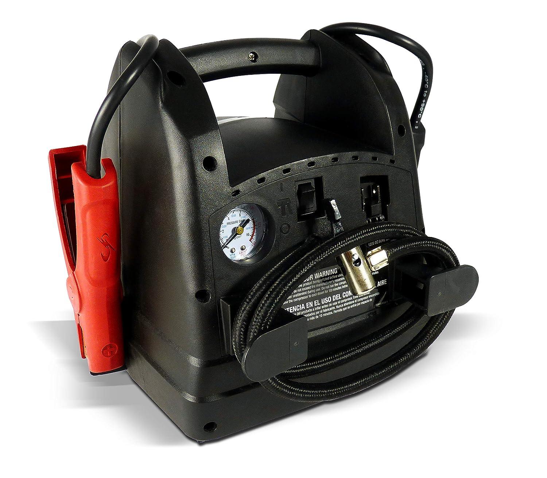 Amazon.com: Schumacher SJ6 Portable Power1000 Peak Starting Amps Jump Starter/Air Compressor: Home Improvement
