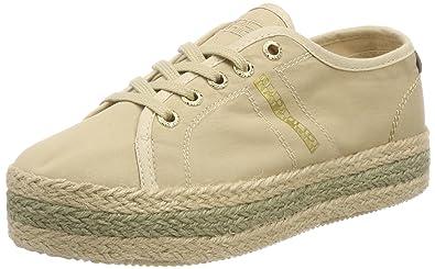 Napapijri Footwear, Basses Femme - Beige - Beige (Beige N101), 39 EU