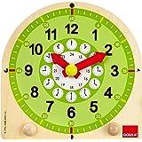 Goula - 55125 - Jouet en Bois - Eveil - Horloge Éducative