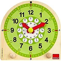 Goula- Learning Clock ED-Reloj Escolar, Multicolor, 3+ (Diset