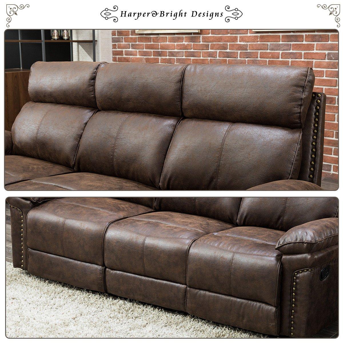 Amazon.com: Harper & Bright Designs - Juego de sofás ...