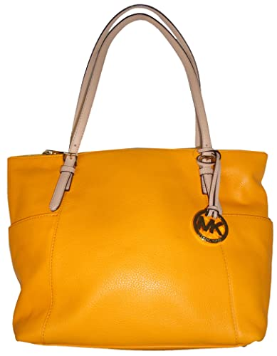 19b986132d81 Amazon.com: Michael Kors Jet Set Item EW Top Zip Tote - Vintage Yellow:  Shoes