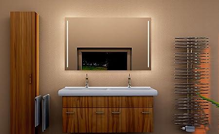 led bathroom wall mirror bathroom mirror illuminated bathroom mirror rh amazon co uk
