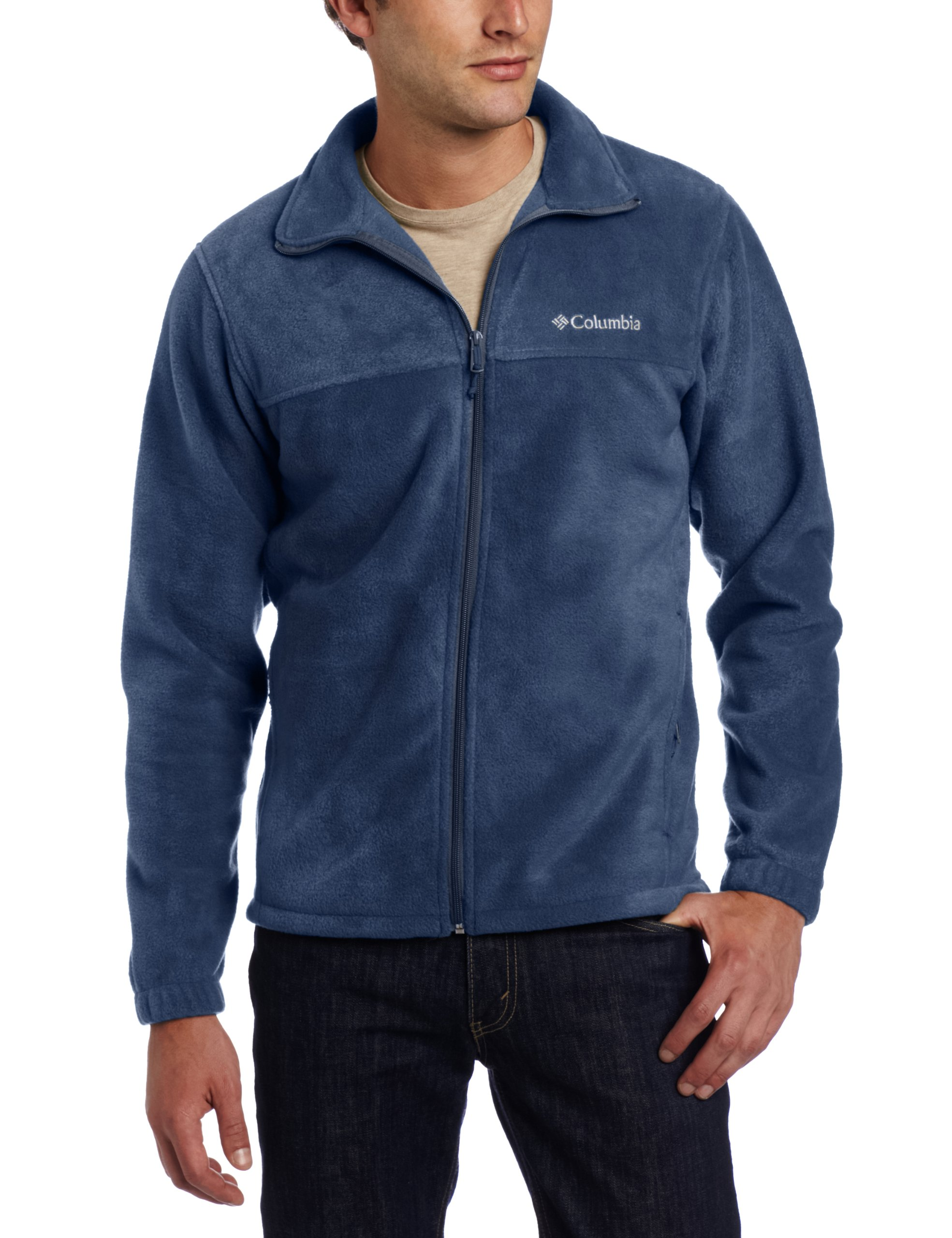 Columbia Men's Tall Steens Mountain Full Zip 2.0 Fleece Jacket, Collegiate Navy, 3X/Tall by Columbia