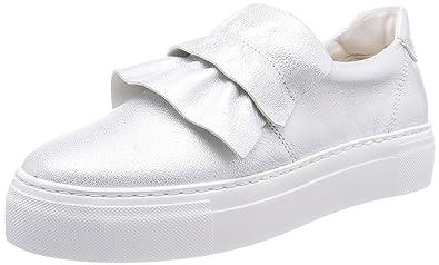 Marc O'Polo Damen Sneaker 80114463503102, Weiß (White), 40 EU