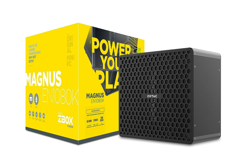 Zotac ZBOX Magnus EN1080K LGA 1151 (Zócalo H4) 3.6GHz i7-7700 Negro - Barebón (LGA 1151 (Zócalo H4), 7ª Generación de procesadores Intel® CoreTM i7, ...