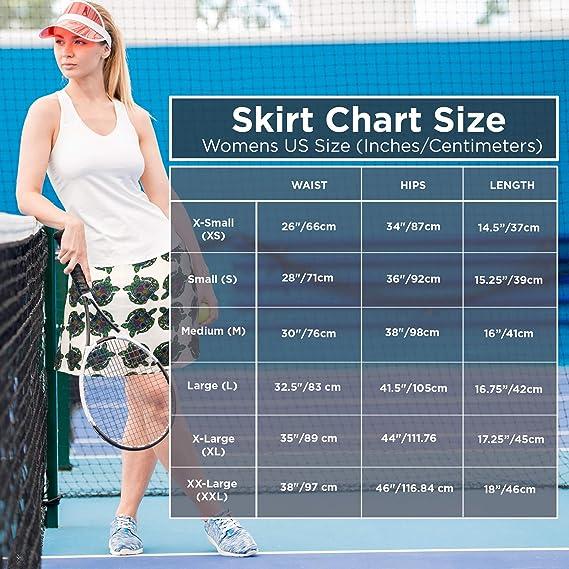 Amazon.com: XrSzChic - Falda de tenis para mujer con ...